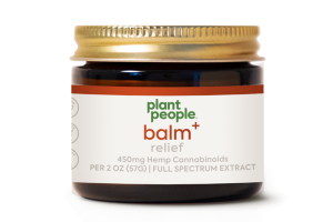 BALM + RELIEF 450MG HEMP CANNABINOIDS FULL SPECTRUM EXTRACT