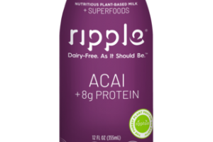 ACAI NUTRITIOUS PLANT-BASED MILK + SUPERFOODS