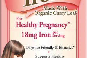 VEGETARIAN IRON DIETARY SUPPLEMENT CAPSULES