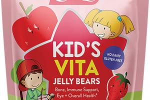 KID'S VITA DIETARY SUPPLEMENT JELLY BEARS TASTY APPLE & STRAWBERRY