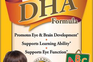 CHILDREN'S DHA FORMULA PROMOTES EYE & BRAIN DEVELOPMENT SUPPORTS LEARNING ABILITY SUPPORTS EYE FUNCTION DIETARY SUPPLEMENT CHEWABLE SOFTGELS