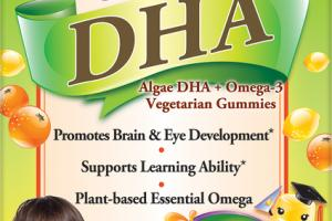 CHILDREN'S ALGAE DHA + OMEGA-3 DIETARY SUPPLEMENT VEGETARIAN GUMMIES