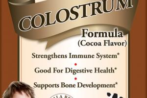 CHILDREN'S COLOSTRUM COCOA DIETARY SUPPLEMENT CHEWABLE TABLETS