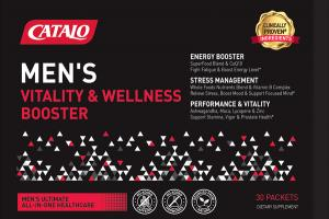MEN'S VITALITY & WELLNESS BOOSTER DIETARY SUPPLEMENT PACKETS