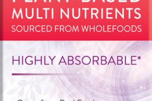 WOMEN'S PLANT-BASED MULTI NUTRIENTS HIGHLY ABSORBABLE DIETARY SUPPLEMENT VEGETARIAN CAPSULES