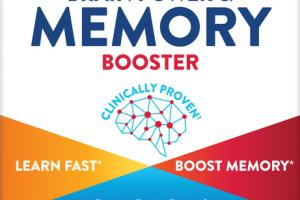 BRAIN POWER & MEMORY BOOSTER DIETARY SUPPLEMENT JELLY BITES NATURAL STRAWBERRY