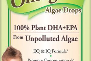 BABY'S OMEGA-3 100% PLANT DHA+EPA ALGAE DROPS DIETARY SUPPLEMENT
