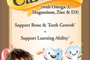 DHA CALCIUM (WITH OMEGA-3, MAGNESIUM, ZINC & D3) DIETARY SUPPLEMENT LIQUID PEACH & MANGO