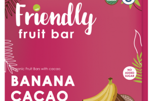 BANANA CACAO FRUIT BAR