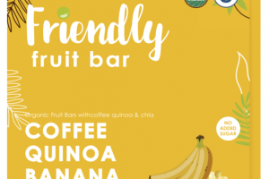 COFFEE QUINOA BANANA CHIA FRUIT BARS