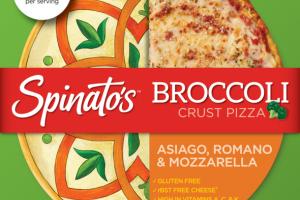 ASIAGO, ROMANO & MOZZARELLA BROCCOLI CRUST PIZZA