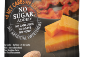 CHEDDAR BACON FLAVORED ALMONDS