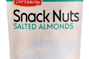 SALTED ALMONDS SNACK NUTS