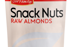 RAW ALMONDS SNACK NUTS