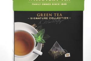 TIMELESS GREEN TEA WITH NANA MINT SILKY PYRAMID TEA BAGS