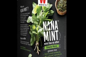 SIMPLY NANA GREEN TEA