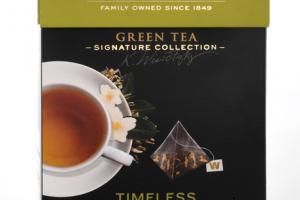 TIMELESS GREEN TEA WITH JASMINE SILKY PYRAMID TEA BAGS