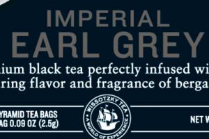 IMPERIAL EARL GREY SILKY PYRAMID BLACK TEA BAGS