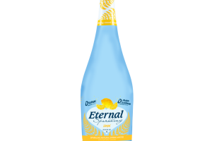 LEMON SPARKLING NATURAL SPRING WATER