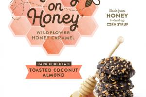 TOASTED COCONUT ALMOND DARK CHOCOLATE