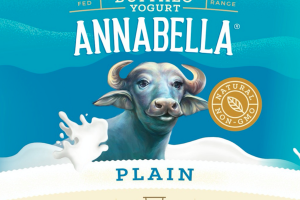 PLAIN WHOLE MILK WATER BUFFALO YOGURT