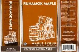 VERMONT ORGANIC BOURBON MAPLE SYRUP