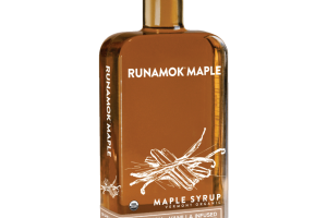 VERMONT ORGANIC CINNAMON + VANILLA INFUSED MAPLE SYRUP