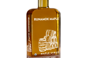 WHISKEY BARREL-AGED VERMONT ORGANIC MAPLE SYRUP