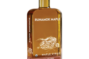 CARDAMOM INFUSED VERMONT ORGANIC MAPLE SYRUP