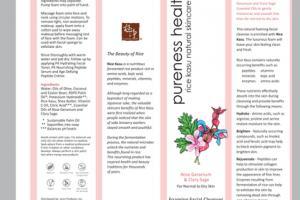 RICE KASU NATURAL SKINCARE FOAMING FACIAL CLEANSER ROSE GERANIUM & CLARY SAGE