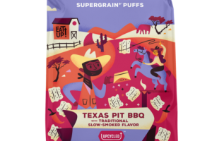 TEXAS PIT BBQ WITH TRADITIONAL SLOW-SMOKED FLAVOR SUPERGRAIN+ PUFFS
