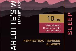 10 MG PLANT-BASED CANNABINOIDS HEMP EXTRACT-INFUSED DIETARY SUPPLEMENT GUMMIES RASPBERRY