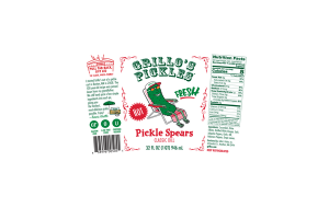 CLASSIC DILL PICKLE SPEARS