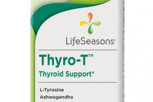 THYRO-T THYROID SUPPORT DIETARY SUPPLEMENT VEGETARIAN CAPSULES
