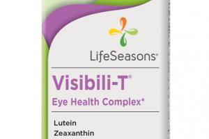 VISIBILI-T EYE HEALTH COMPLEX DIETARY SUPPLEMENT VEGETARIAN CAPSULES