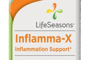 INFLAMMA-X INFLAMMATION SUPPORT DIETARY SUPPLEMENT VEGETARIAN CAPSULES
