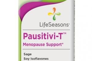 PAUSITIVI-T MENOPAUSE SUPPORT DIETARY SUPPLEMENT VEGETARIAN CAPSULES