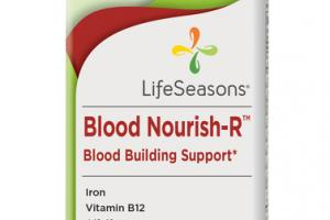BLOOD NOURISH-R BLOOD BUILDING SUPPORT DIETARY SUPPLEMENT VEGETARIAN CAPSULES