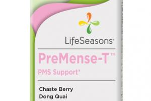 PREMENSE-T PMS SUPPORT DIETARY SUPPLEMENT VEGETARIAN CAPSULES