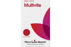 MICRO QUICK ABSORB® MULTIVITE DIETARY SUPPLEMENT INSTANT DISSOLVE TABLETS