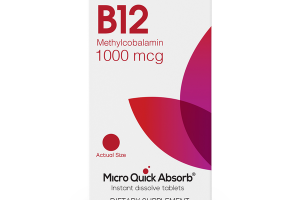 B12 METHYLCOBALAMIN 1000 MCG DIETARY SUPPLEMENT INSTANT DISSOLVE TABLETS