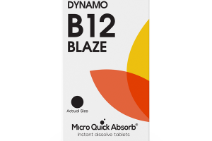 DYNAMO B12 BLAZE INSTANT DISSOLVE DIETARY SUPPLEMENT TABLETS