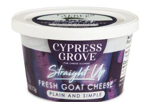PLAIN AND SIMPLE STRAIGHT UP FRESH GOAT CHEESE