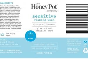 SENSITIVE FOAMING WASH