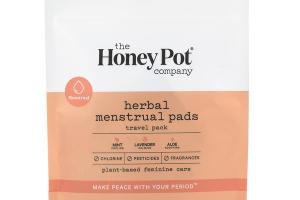 HERBAL MENSTRUAL PADS, MINT, LAVENDER, ALOE