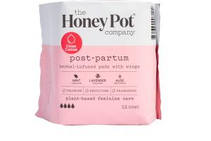 POST-PARTUM HERBAL-INFUSED PADS WITH WINGS