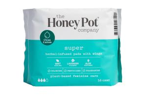 SUPER HERBAL-INFUSED PADS WITH WINGS