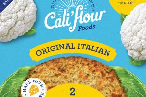 ORIGINAL ITALIAN CAULIFLOWER PIZZA CRUSTS