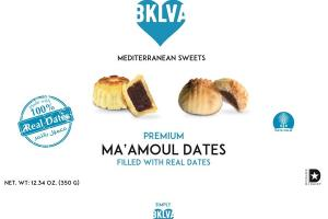MEDITERRANEAN SWEETS PREMIUM MA'AMOUL DATES FILLED WITH REAL DATES