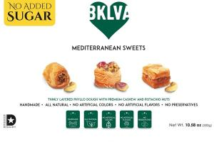 THINLY LAYERED PHYLLO DOUGH WITH PREMIUM CASHEW AND PISTACHIO NUTS MEDITERRANEAN SWEETS